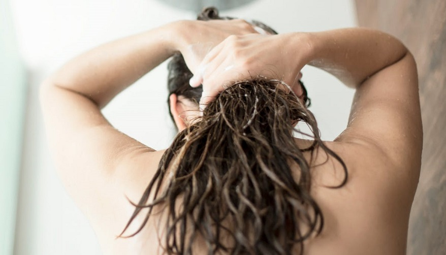 remove grease from dry hair